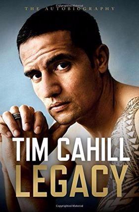 【中华商务】遗产:蒂姆·卡希尔 英文原版 Legacy:Autobiography of Tim Cahill