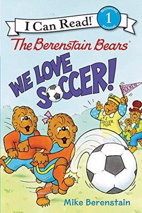 【中华商务】I can read!书贝贝熊:我们爱足球! 英文原版儿童读物 英文原版书 The Berenstain Bears: We Love Soccer!