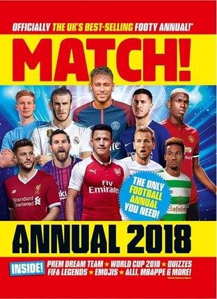 【中华商务】Match足球杂志2018年年刊 英文原版 Match Annual 2018 Annuals 2018 MATCH Boxtree
