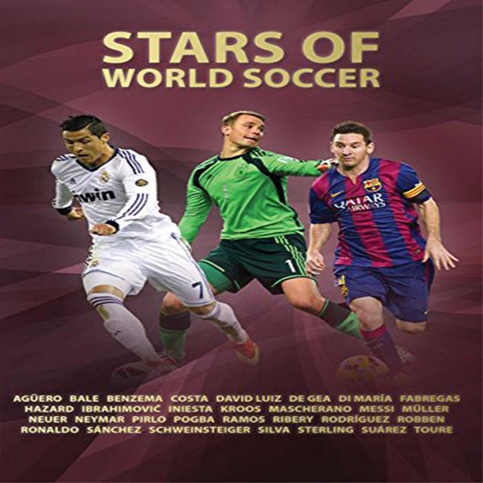 【中华商务】世界足球明星 英文原版 STARS OF WORLD SOCCER (WSL)