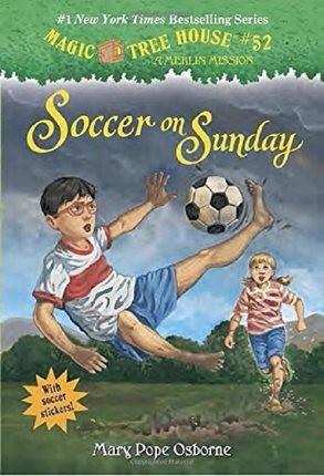 【中华商务】神奇树屋52:周日的足球 英文原版Soccer On Sunday