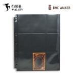 【华 林 阁】TW 上插 黑色双面9格卡页-游戏王小尺寸