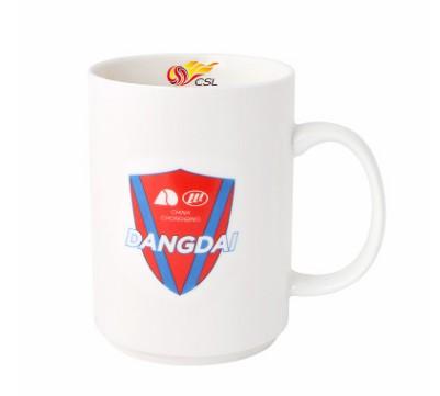 【孚德品牌】中超重庆当代力帆时尚陶瓷马克杯办公水杯咖啡杯 球迷礼物