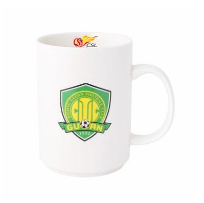 【孚德品牌】中超北京中赫国安时尚陶瓷马克杯办公水杯咖啡杯 球迷礼物
