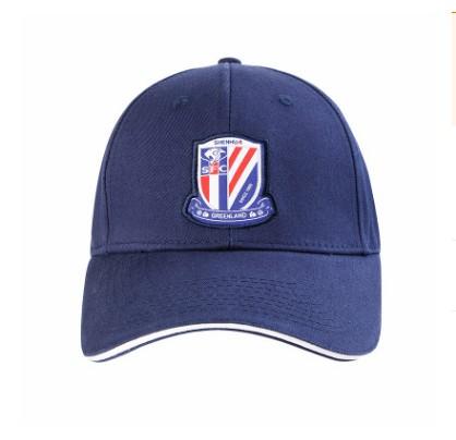 【孚德品牌】中超上海绿地申花时尚纯棉棒球帽户外运动遮阳帽