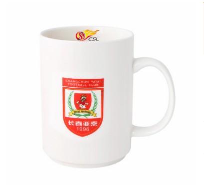 【孚德品牌】中超长春亚泰时尚陶瓷马克杯办公水杯咖啡杯 球迷礼物