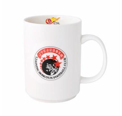 【孚德品牌】中超辽宁宏运时尚陶瓷马克杯办公水杯咖啡杯 球迷礼物