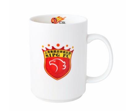 【孚德品牌】中超上海上港时尚陶瓷马克杯办公水杯咖啡杯 球迷礼物