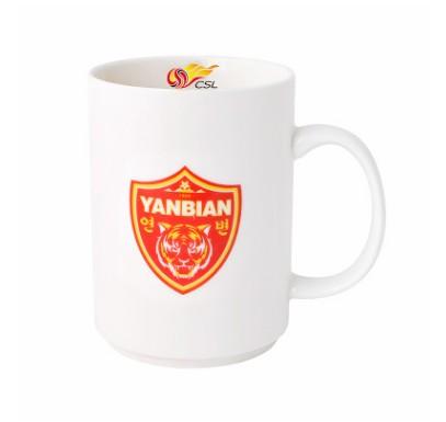 【孚德品牌】中超延边富德时尚陶瓷马克杯办公水杯咖啡杯 球迷礼物
