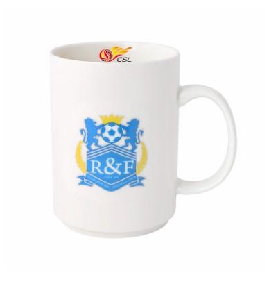 【孚德品牌】中超广州富力时尚陶瓷马克杯办公水杯咖啡杯 球迷礼物