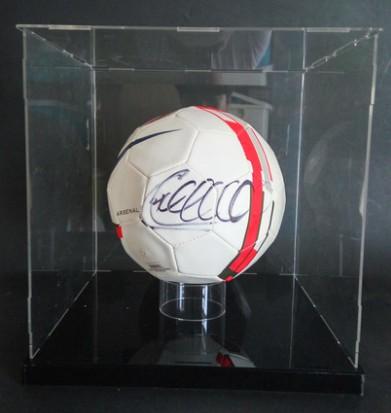 【不易流行】【包邮】阿森纳蒂埃里亨利 法国国家队 含SA证书 亲笔签名 足球 裱框