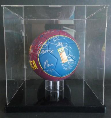 【不易流行】【包邮】巴塞罗那全队梅西佩德罗普约尔 含SA证书 亲笔签名 足球 裱框