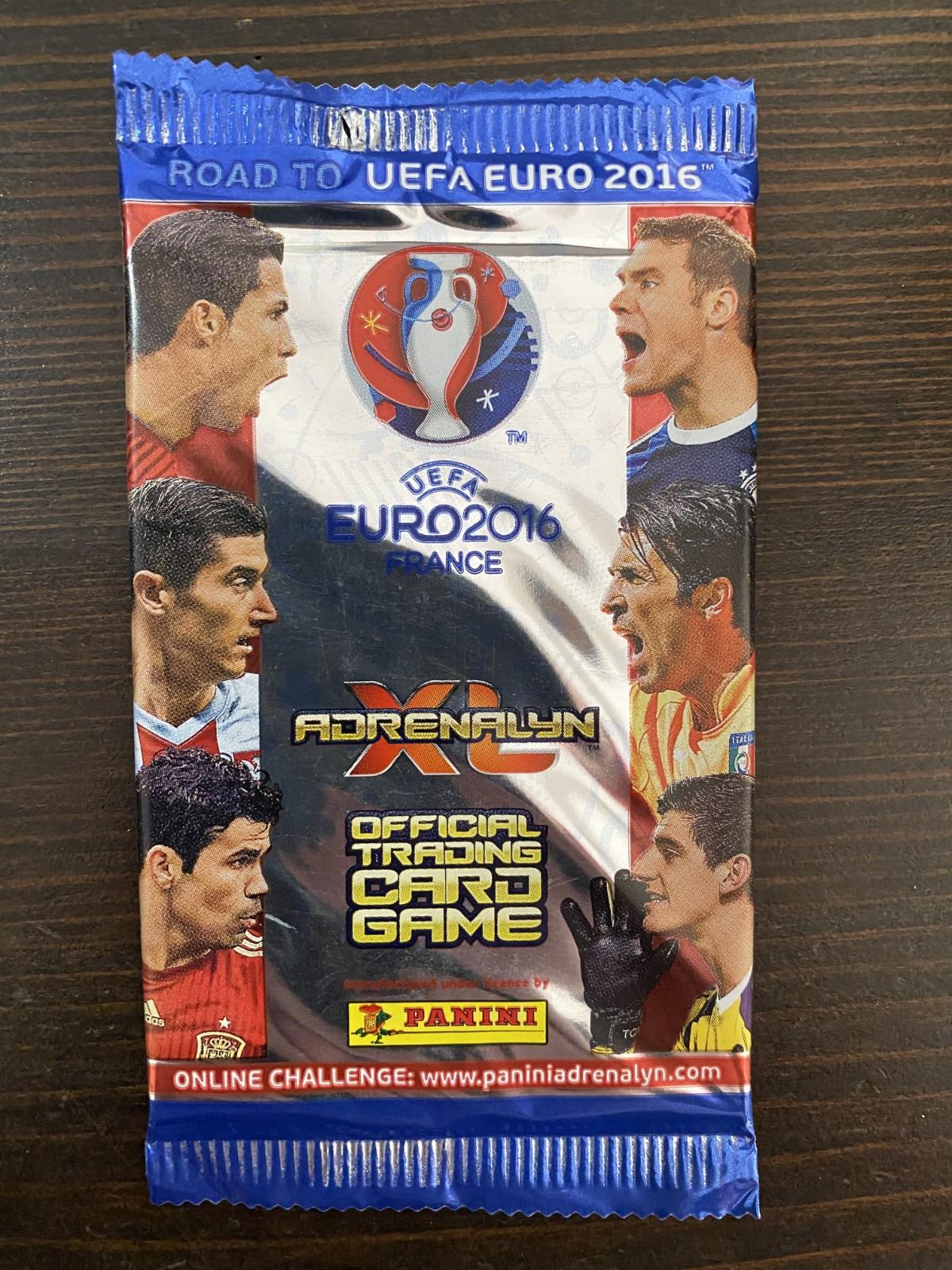 2016 帕尼尼 欧洲杯 球星卡 游戏版 散包 每包6张