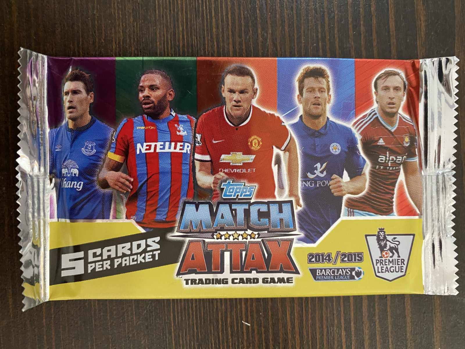 2014-15 TOPPS  英超MATCH ATTAX球星卡单包卡包 亚太版