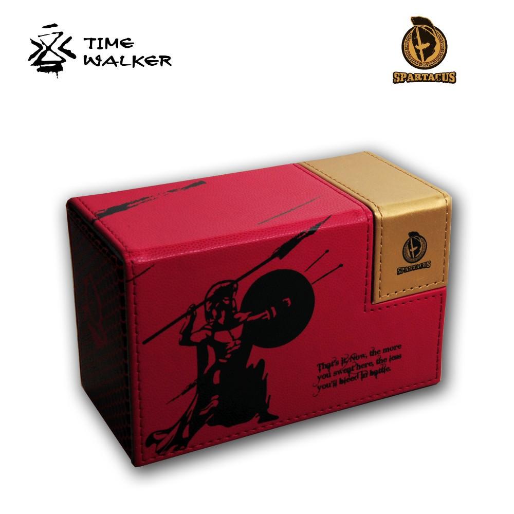 【华林阁】TW斯巴达系列 竞技比赛牌盒 卡牌收纳盒 带独特指示物收纳盒