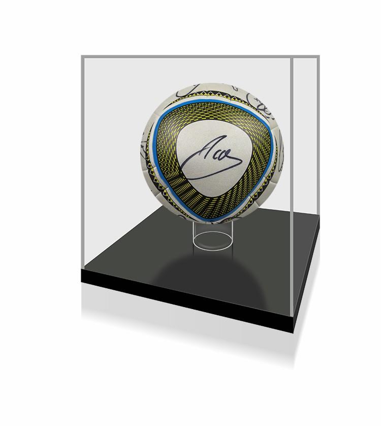 【不易流行】西班牙全队2010托雷斯拉莫斯 含SA证书 亲笔签名 足球 裱框