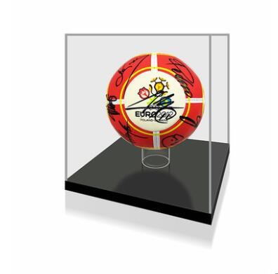 【不易流行】2012欧洲杯西班牙哈维卡西利亚斯亲笔签名 含SA证书 亲笔签名足球