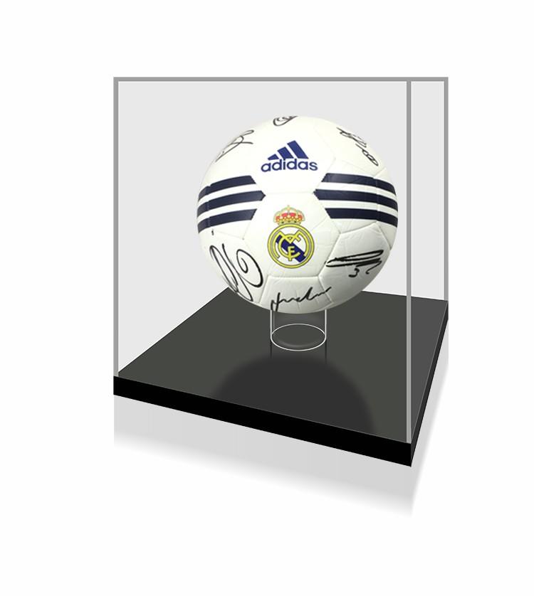 【不易流行】皇家马德里 莫德里奇拉莫斯全队亲笔签名足球 一瞬 裱框含sa证书