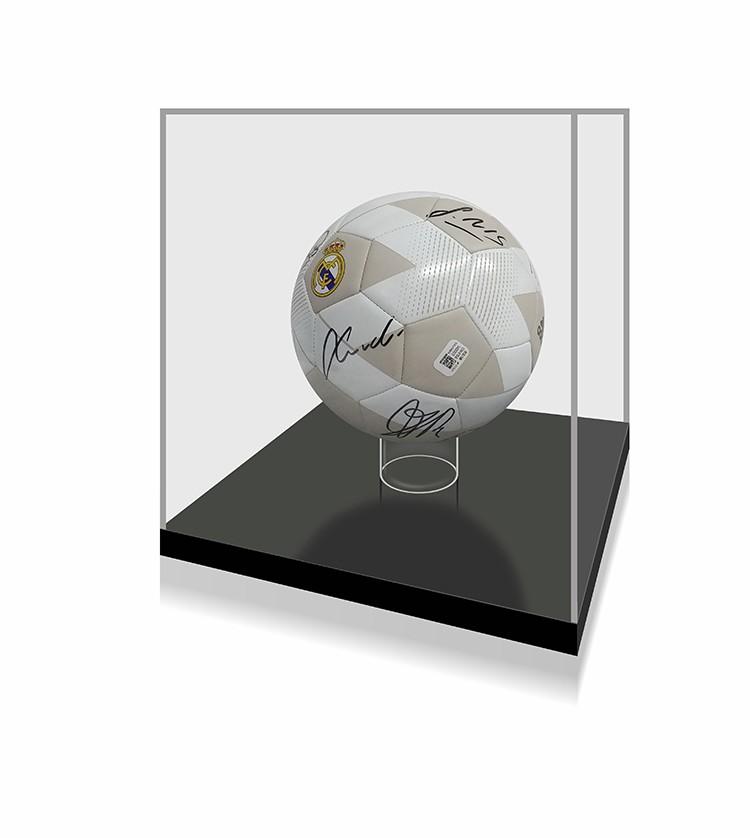【不易流行】18-19赛季皇马皇家马德里全队马塞洛本泽马 亲笔签名足球 带证书