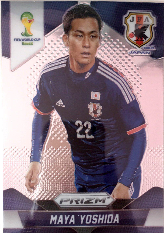 【普拉蒂尼】2014Panini帕尼尼巴西世界杯足球球星卡Maya Yoshida吉田麻也日本NO.197普卡