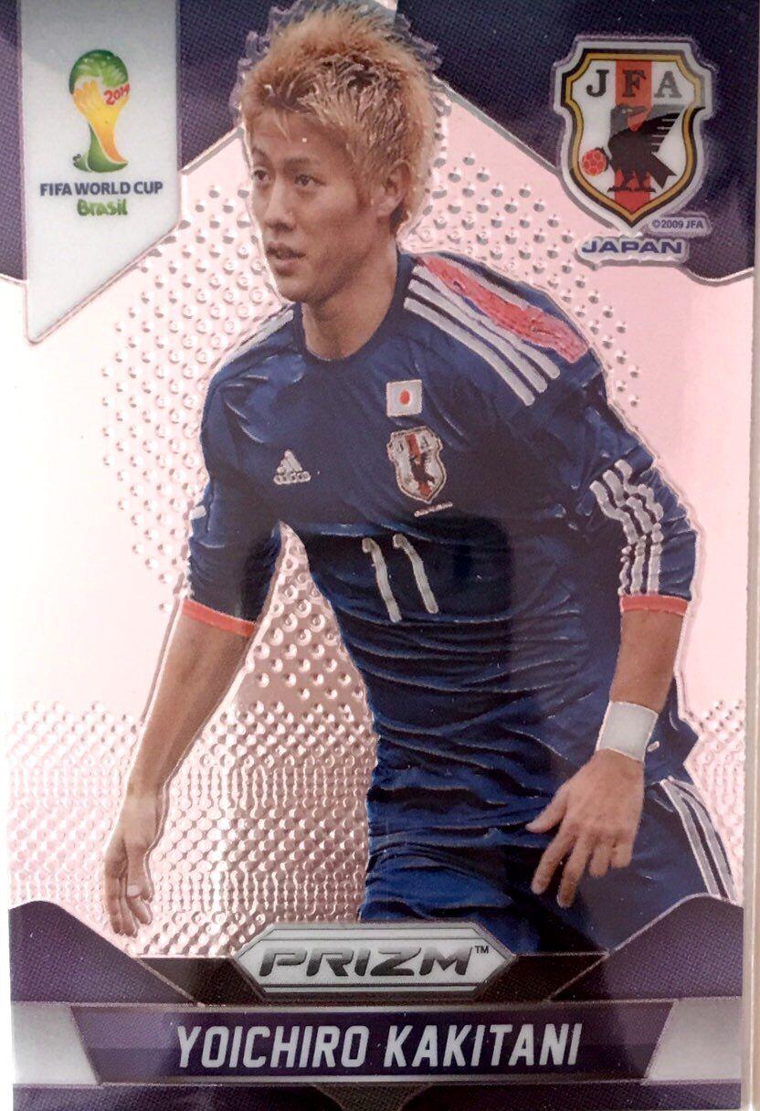 【普拉蒂尼】2014Panini帕尼尼巴西世界杯足球球星卡Yoichiro Kakitani柿谷曜一郎日本NO.201普卡