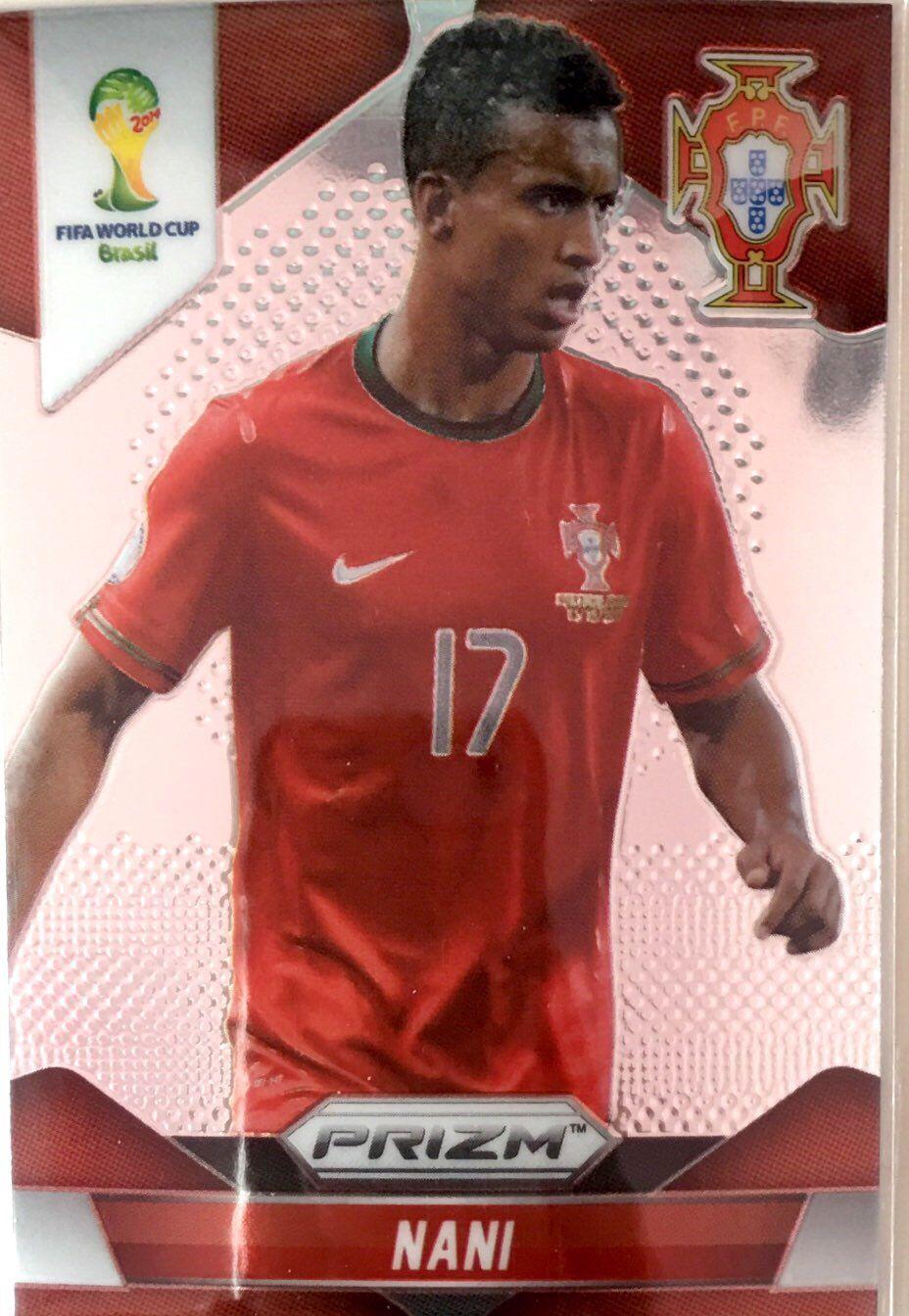 【普拉蒂尼】2014Panini帕尼尼巴西世界杯足球球星卡Nani纳尼葡萄牙NO.159普卡