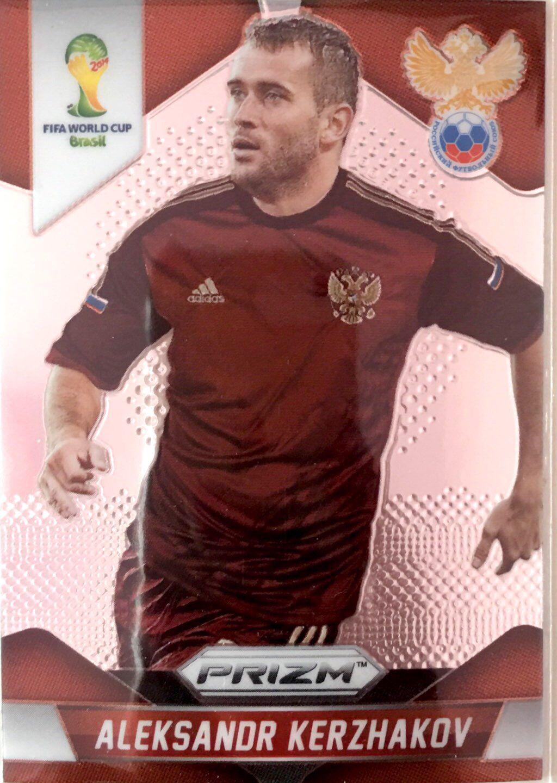 【普拉蒂尼】2014Panini帕尼尼巴西世界杯足球球星卡Aleksandr Kerzhakov科尔扎科夫俄罗斯NO.168普卡