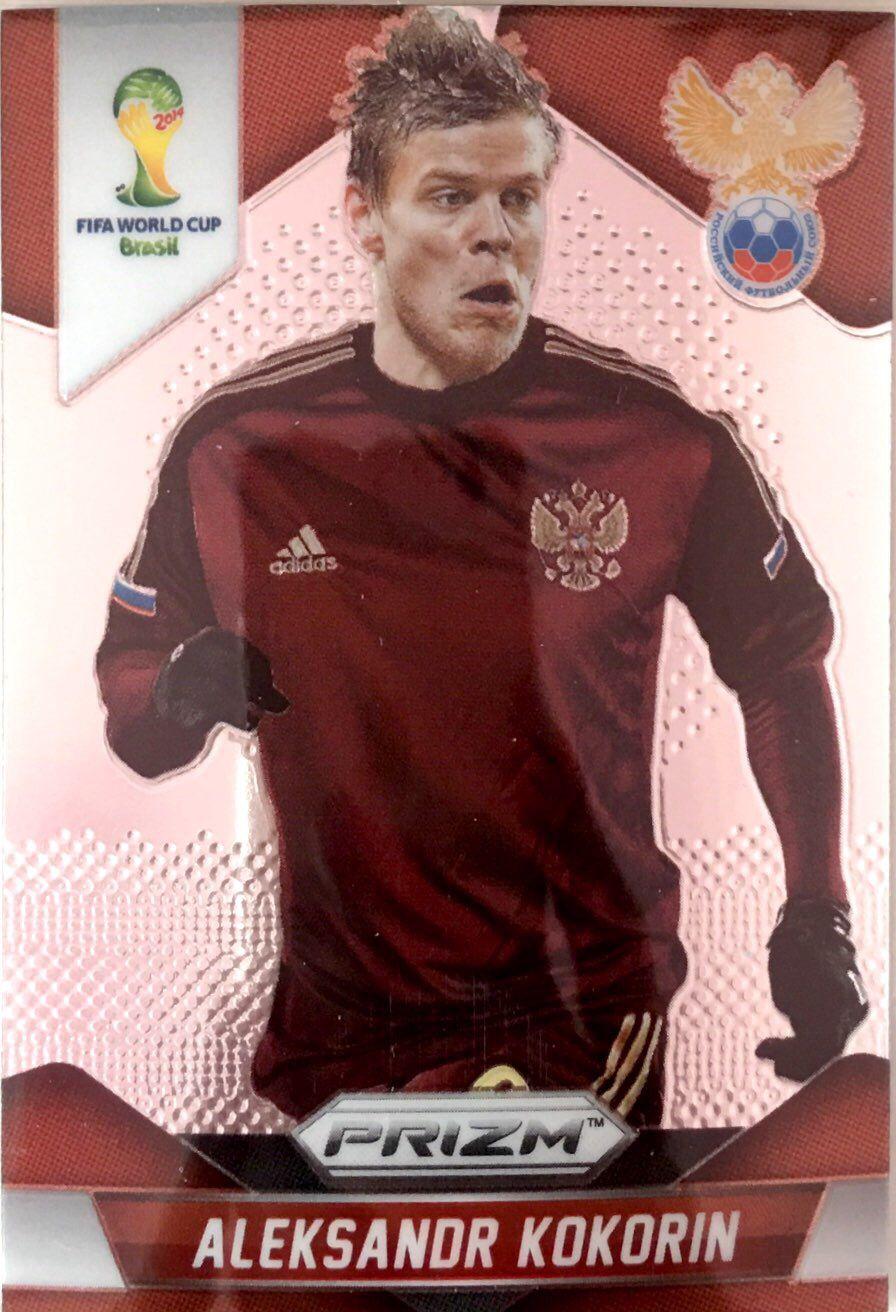 【普拉蒂尼】2014Panini帕尼尼巴西世界杯足球球星卡Aleksandr Kokorin科科林俄罗斯NO.169普卡