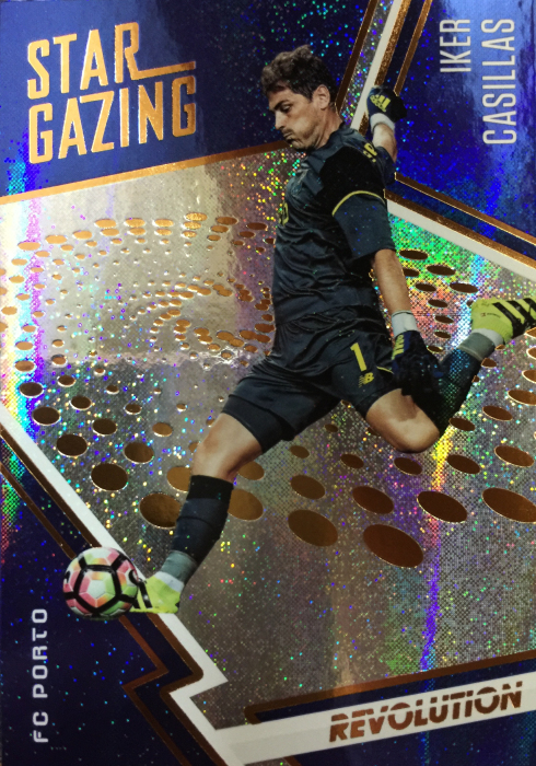 【Ed】 2017 Panini 革命足球 球星卡 伊戈尔·卡西利亚斯 Iker Casillas 波尔图 NO.18 观星特卡