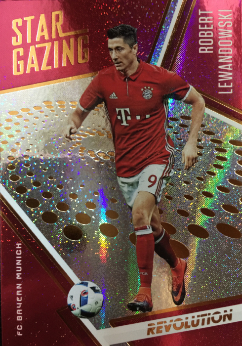 【Ed】 2017 Panini 革命足球 球星卡 罗伯特·莱万多夫斯基 Robert Lewandowski 拜仁慕尼黑 NO.21 观星特卡