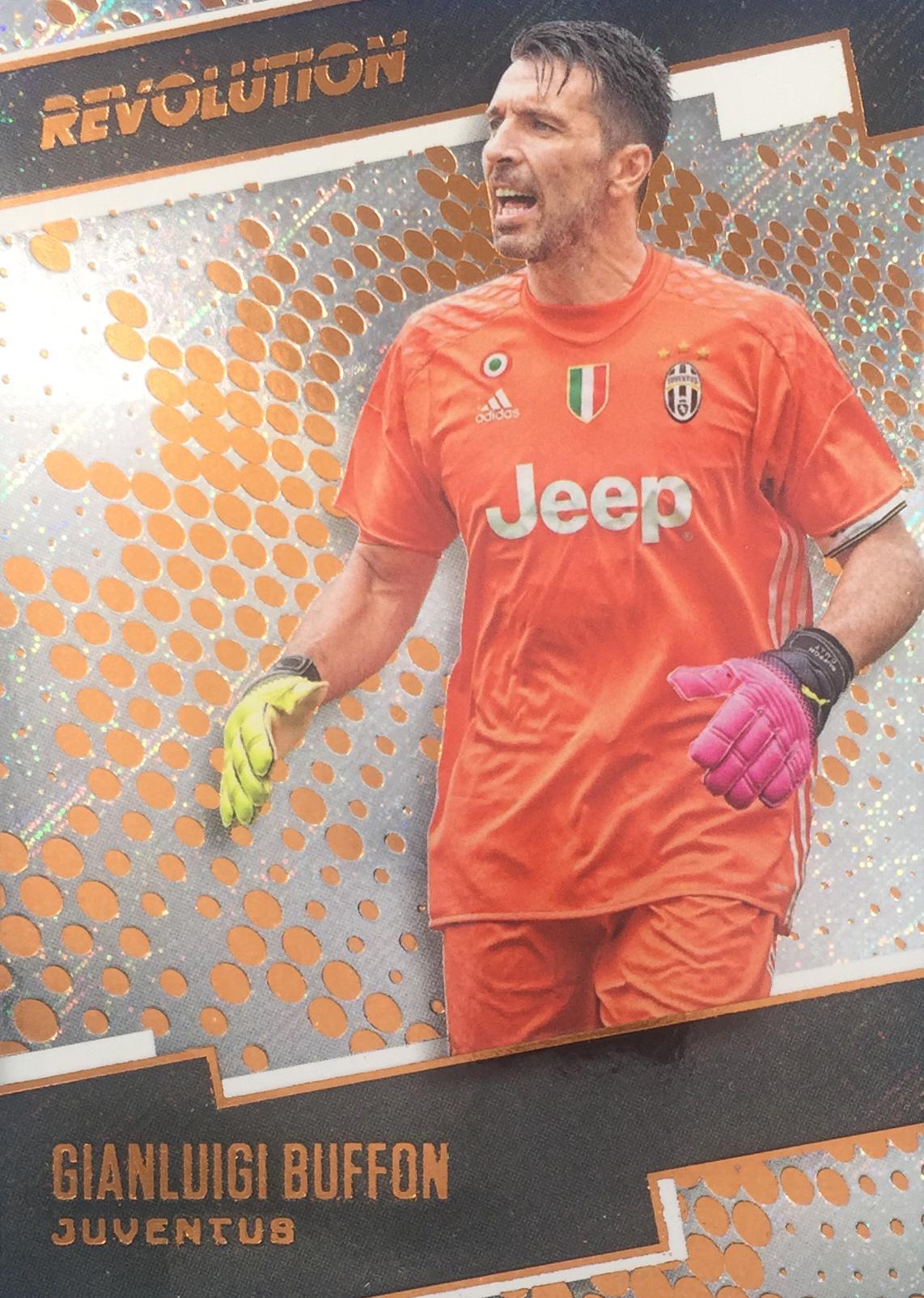 【Ed】 2017 Panini 革命足球 球星卡 吉安路易吉·布冯 Gianluigi Buffon 尤文图斯 NO.37凑套补齐