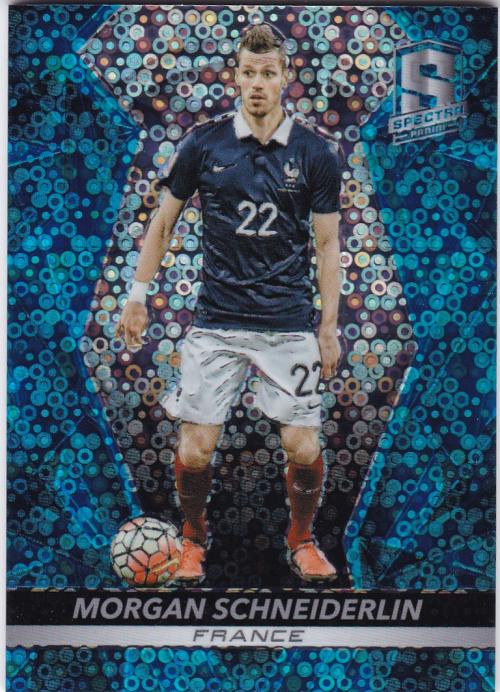 【自若清风】2016Panini帕尼尼光谱足球球星卡Morgan Schneiderlin施内德林法国13/75NO.73基础卡