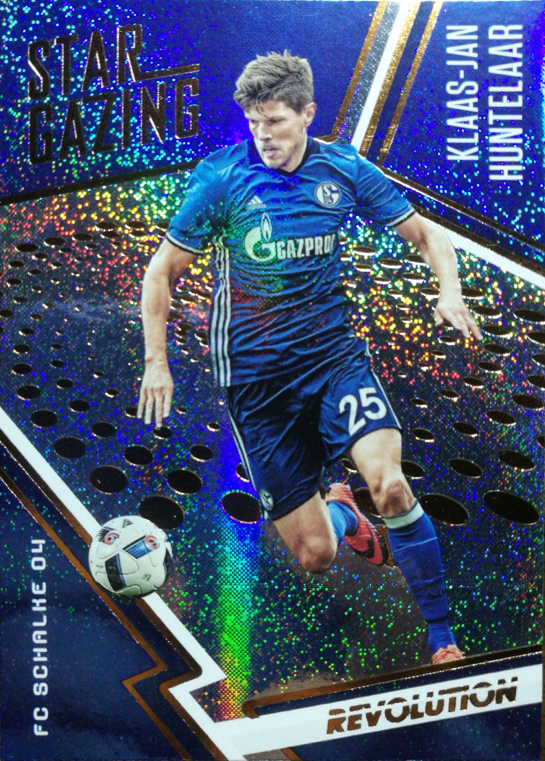 【Ed】 2017 Panini 革命足球 球星卡 克拉斯·扬·亨特拉尔 Klaas-Jan Huntelaar 沙尔克04 NO.16 观星特卡