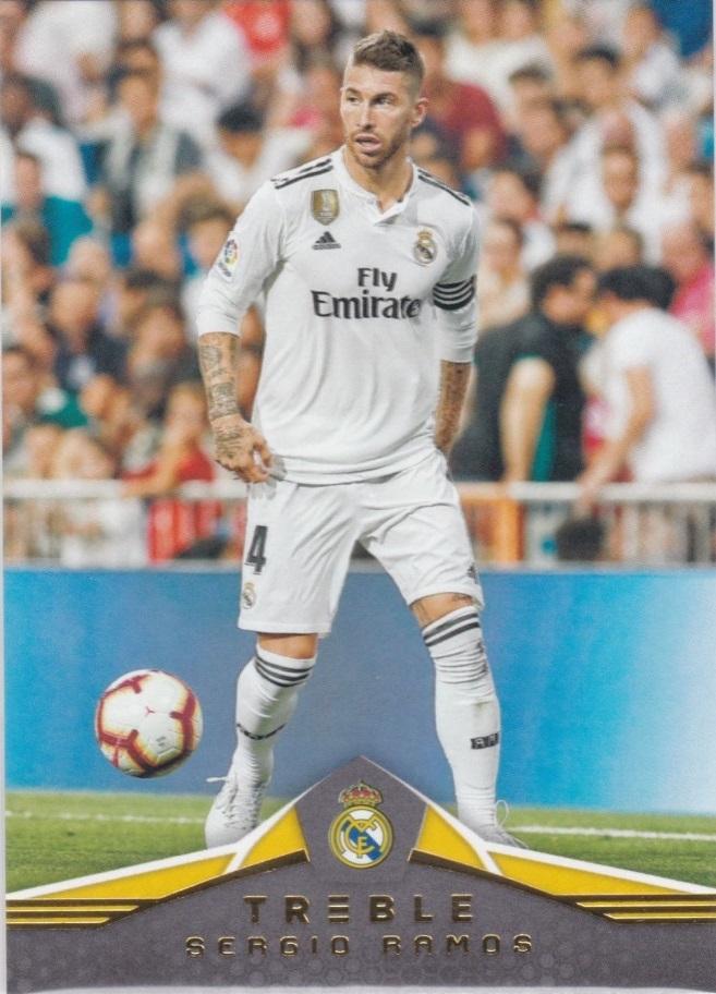 【风筝】2018 panini 三重奏 球星卡 拉莫斯 Sergio Ramos 皇家马德里 NO.165 凑套补齐
