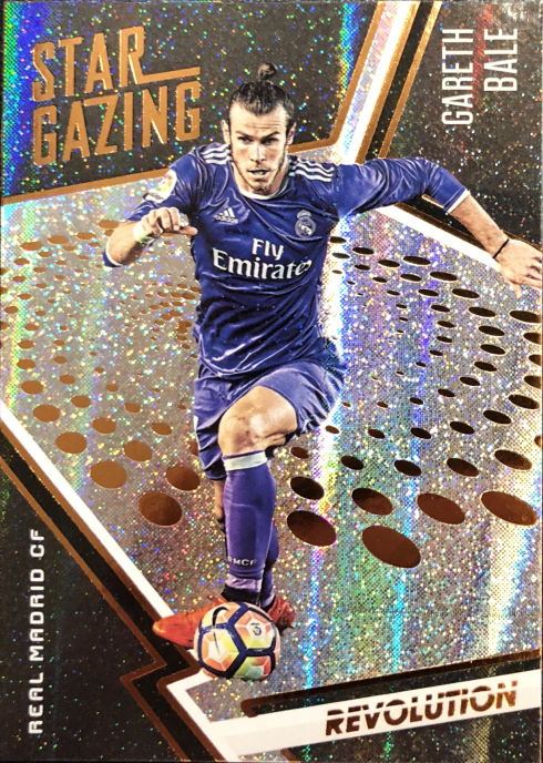 【Ed】 2017 Panini 革命足球球星卡 加雷斯·贝尔 Gareth Bale 皇家马德里 NO.11 观星特卡