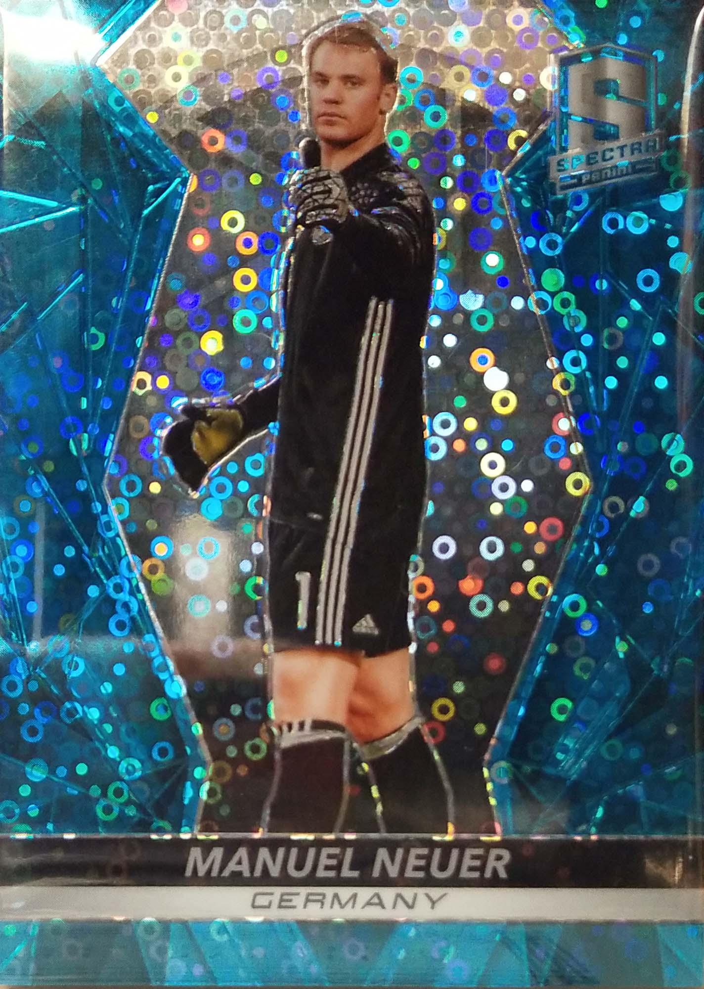 【自若清风】2016Panini帕尼尼光谱足球球星卡Manuel Neuer诺伊尔德国64/75NO.1基础卡