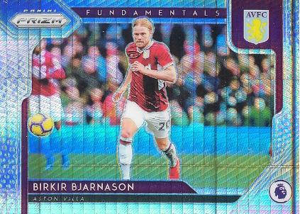 【开心就好】2019 帕尼尼英超 球星卡 比亚纳松 Birkir Bjarnason 基石特卡 阿斯顿维拉 超级折 NO.18 特卡