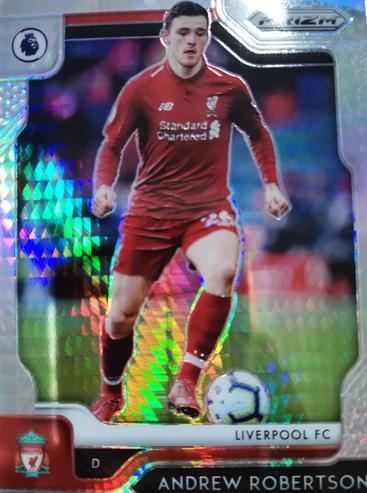 【风筝】2019 Panini 英超 球星卡 安德鲁·罗伯特森 Andy Robertson 利物浦 超级折 NO.87普卡