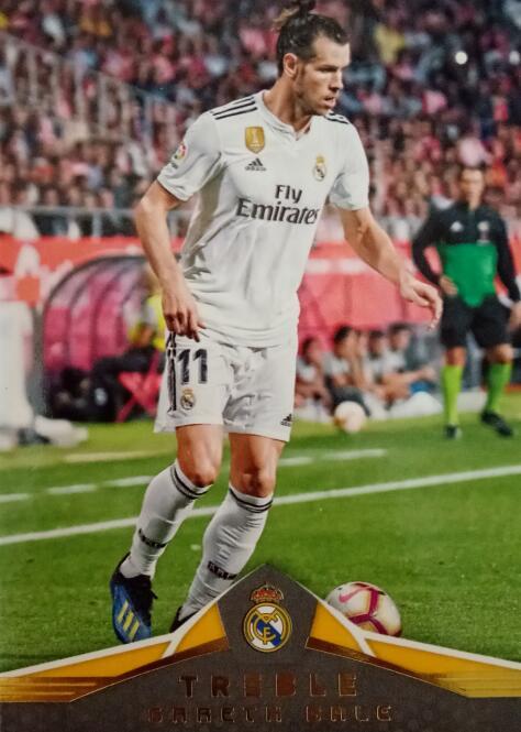 【风筝】2018 panini 三重奏 球星卡 贝尔 Gareth Bale 皇家马德里 NO.147 凑套补齐