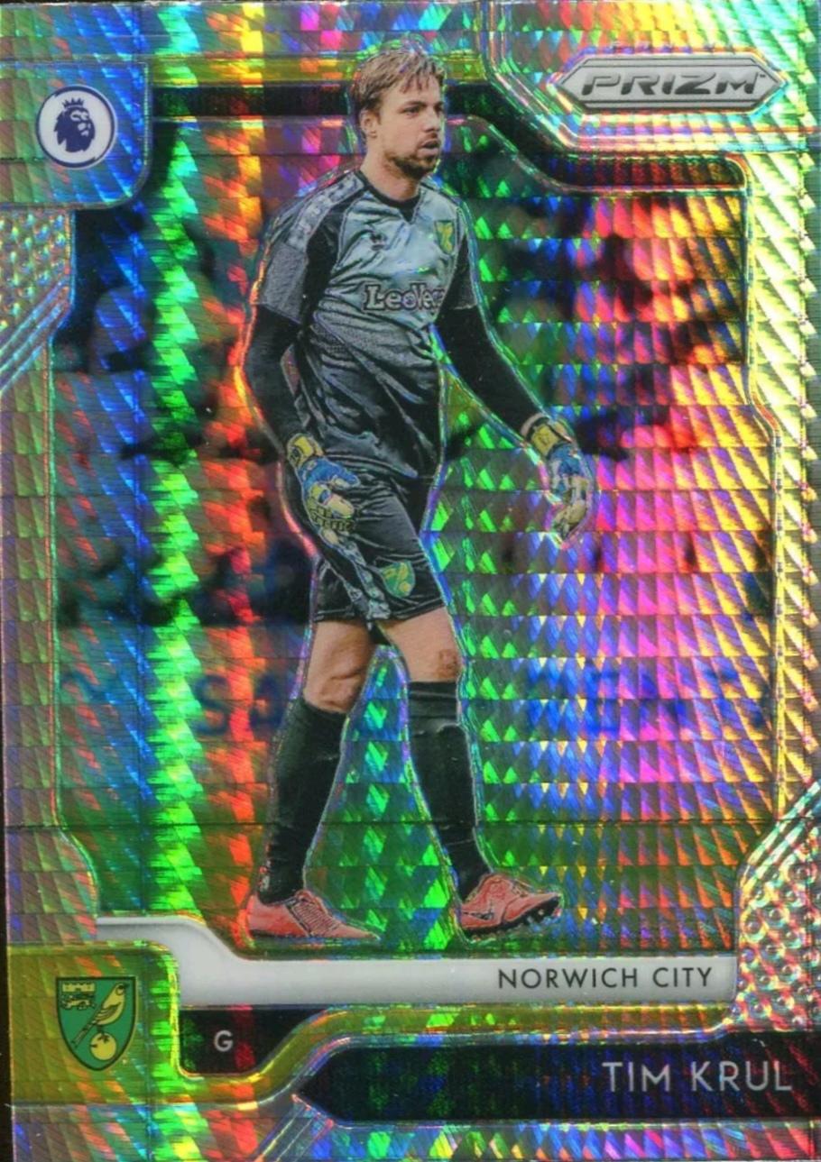 【风筝】2019 Panini 英超 球星卡 克鲁尔 Tim Krul 诺维奇城 超级折 NO.277普卡