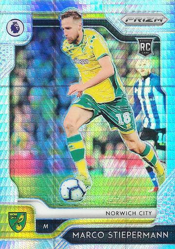 【风筝】2019 Panini 英超 球星卡 马尔科·施蒂珀曼 Marco Stiepermann 诺维奇城 超级折 NO.284普卡