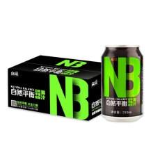 【众果 NB】众果 NB运动能量果汁 310ml×12罐 能量罐