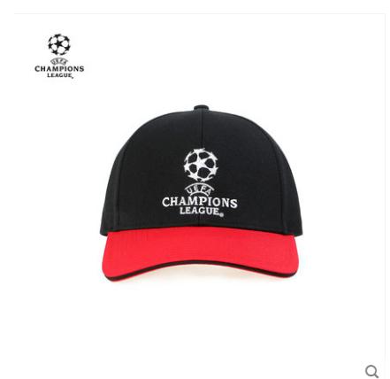 【孚德品牌】欧冠正品红黑时尚休闲棒球帽春夏户外运动遮阳帽鸭舌帽