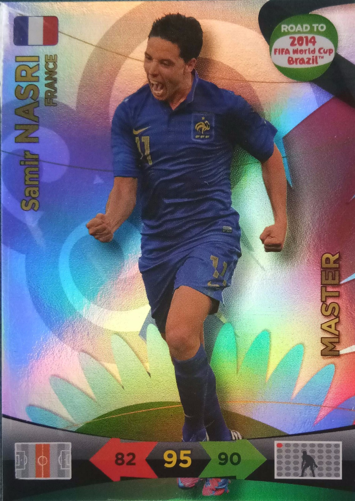 2014 Panini 巴西世界杯 预热版  纳斯里 法国