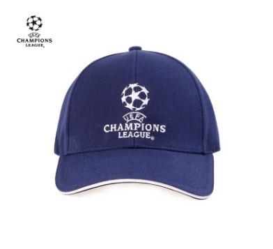 【孚德品牌】欧冠正品藏青款棒球帽夏季户外运动出游遮阳帽 球迷礼物纪念品