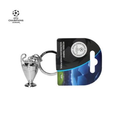 【孚德品牌】欧冠正品授权4.5cm大耳朵杯3D奖杯钥匙扣 球迷礼物