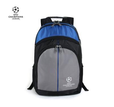 【孚德品牌】欧冠商务休闲双肩包超大容量旅行运动包电脑包 球迷礼物纪念品