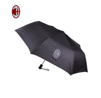 【孚德品牌】AC米兰正品授权男女两用黑胶全自动三折晴雨伞 球迷礼物纪念品