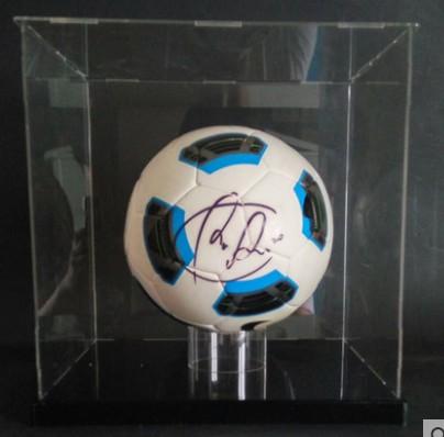 【不易流行】【包邮】范佩西 英超 曼联时期 含SA证书 亲笔签名 足球 裱框