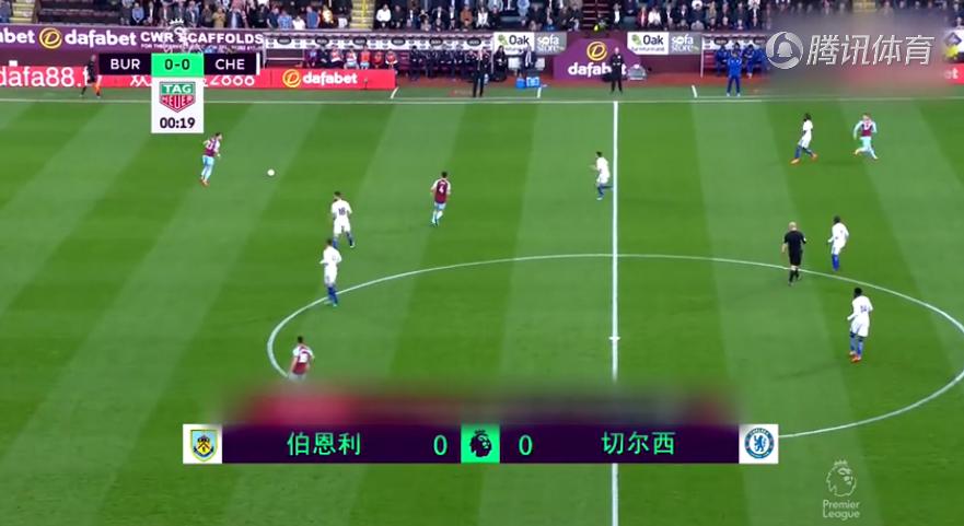 【足球视频】伯恩利1-2切尔西 摩西建功莫拉塔吉鲁哑火